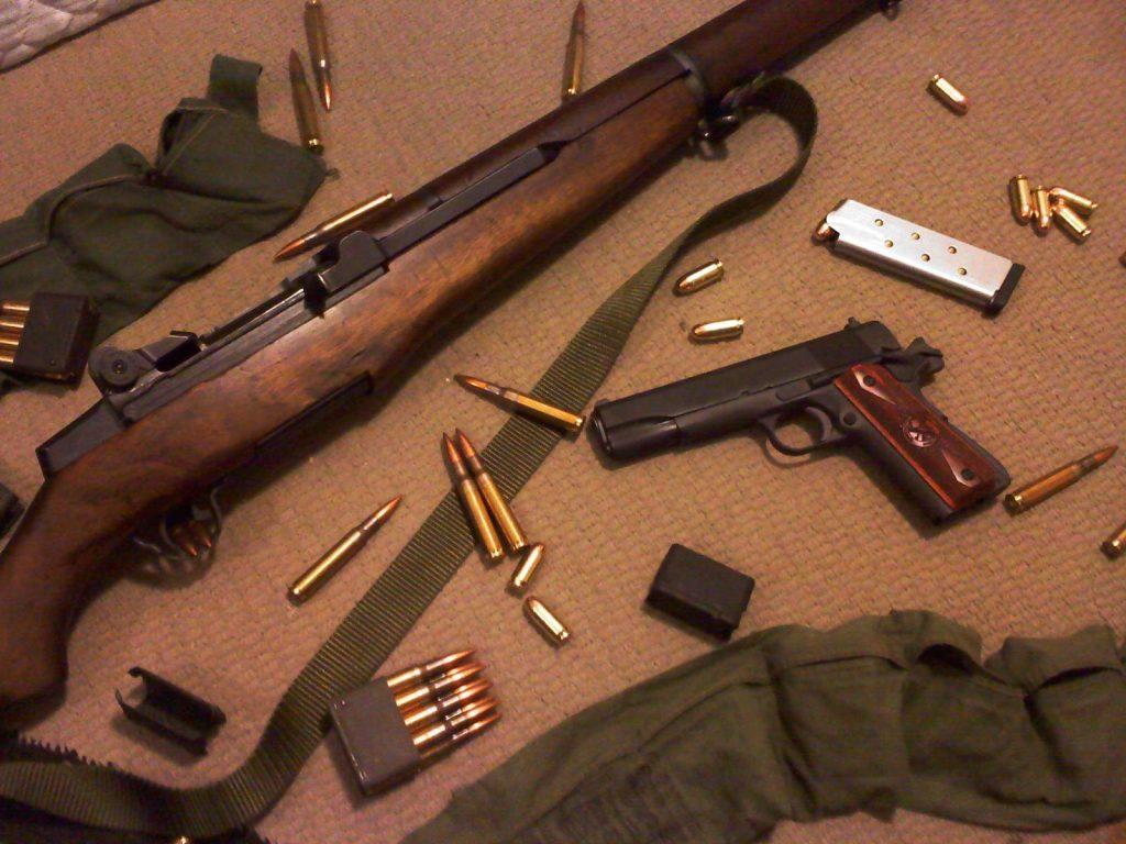 M1 Garand Springfield 1911